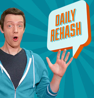 Daily ReHash. Only on Ora.TV
